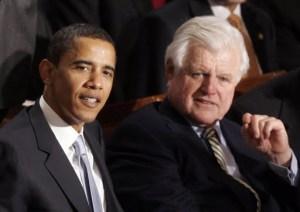 Obama & Edward Kennedy