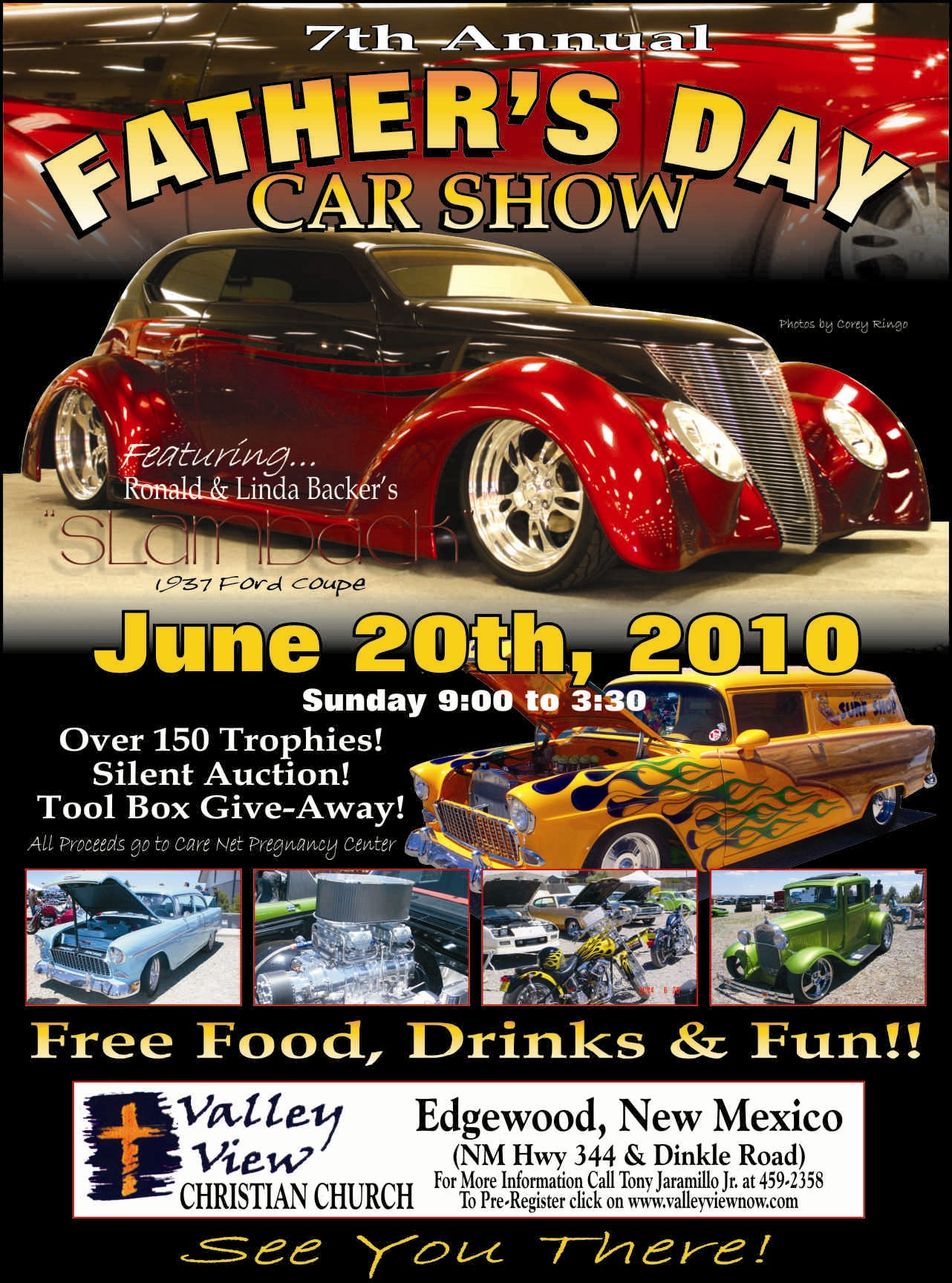 Seventh Annual Fathers Day Car Show Edgewood NM - Car show games